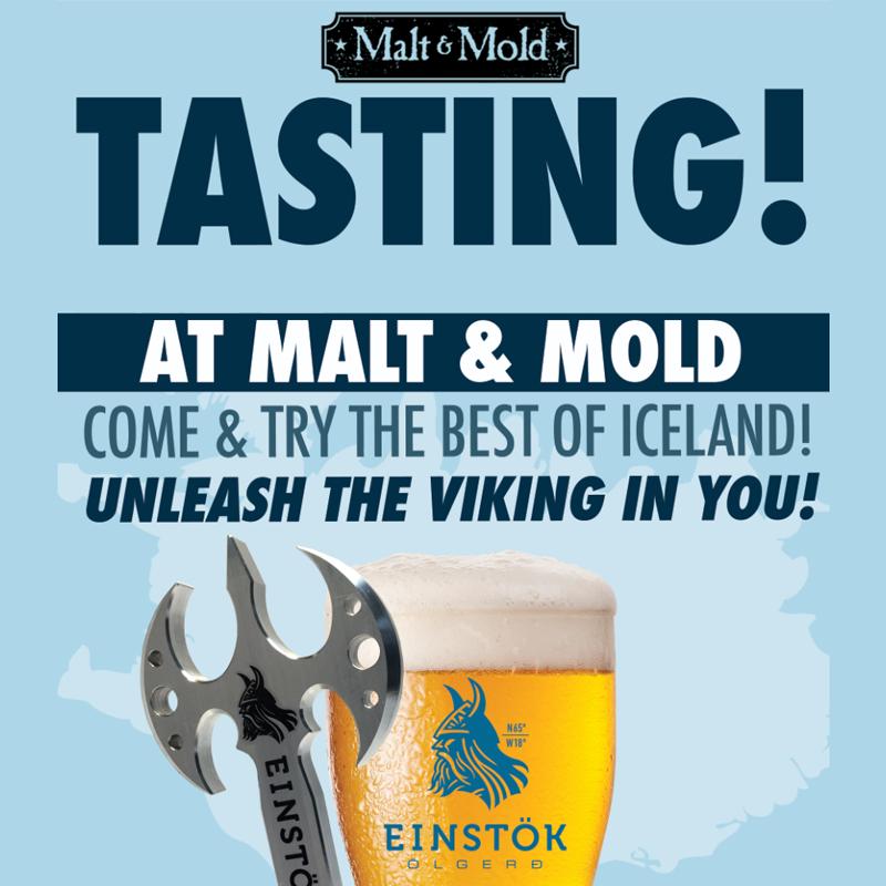 Malt & Mold Lower East Side Einstok Tasting