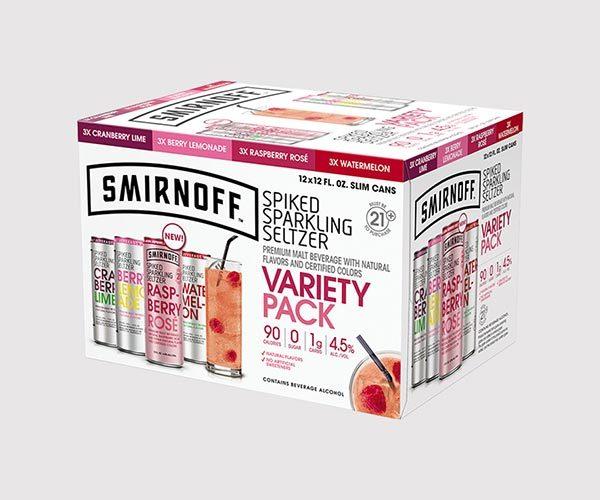 Smirnoff Spiked Sparkling Seltzer Variety Pack