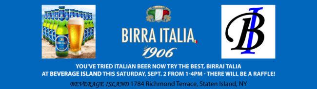 Birra Italia at Beverage Island - Staten Island, NY