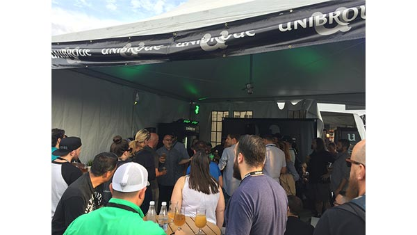 Le Festibiere Beer Festival 2017 with Unibroue