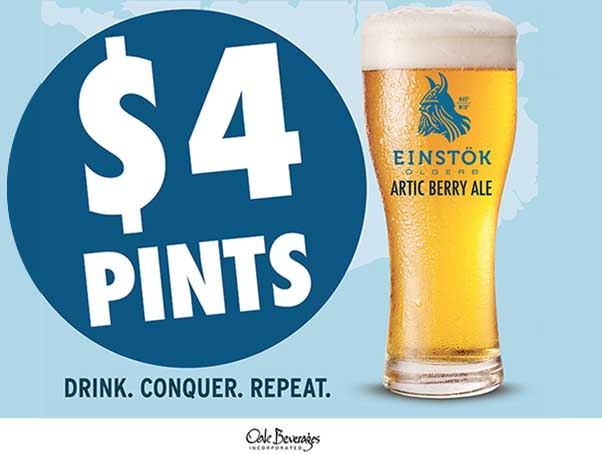 Einstok Icelandic Arctic Berry Ale Special at Le Cheile