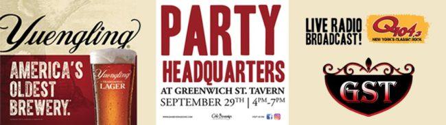 Q104-3 Live Broadcast - Greenwich Street Tavern