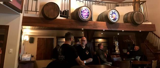 Oak Beverages visits Unibroue Quebec Canada