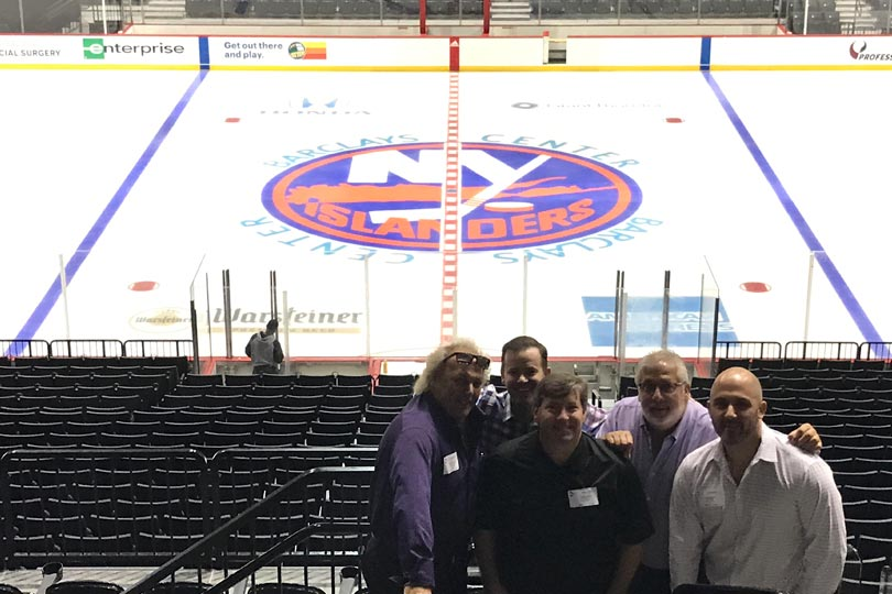 New York Islanders Ice Installation