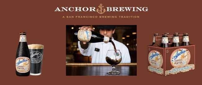 Handcrafted in San Francisco Anchor Coffee Porter