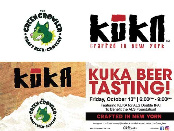 The Green Growler Craft Beer Tap Room Kuka Beer Tasting