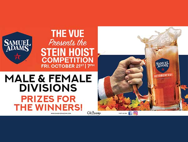 The Vue Presents Stein Hoist Competition