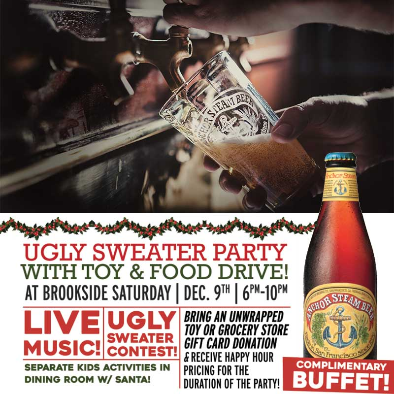 Brookside's Anchor Brewing Ugly Sweater Party