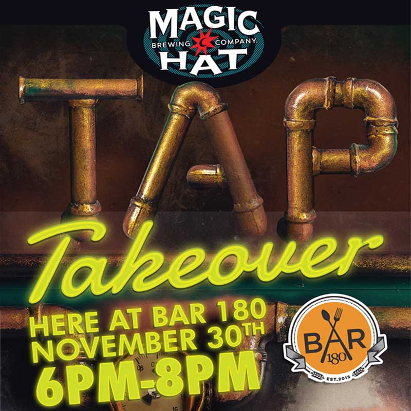 Magic Hat Tap Takeover Bar 180 NYC