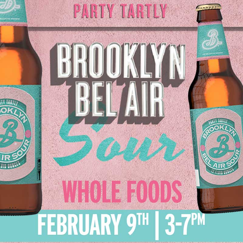 Whole Foods Brooklyn Bel Air Sour Tasting Event