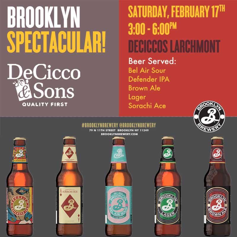 DeCicco & Sons Brooklyn Brewery Spectacular
