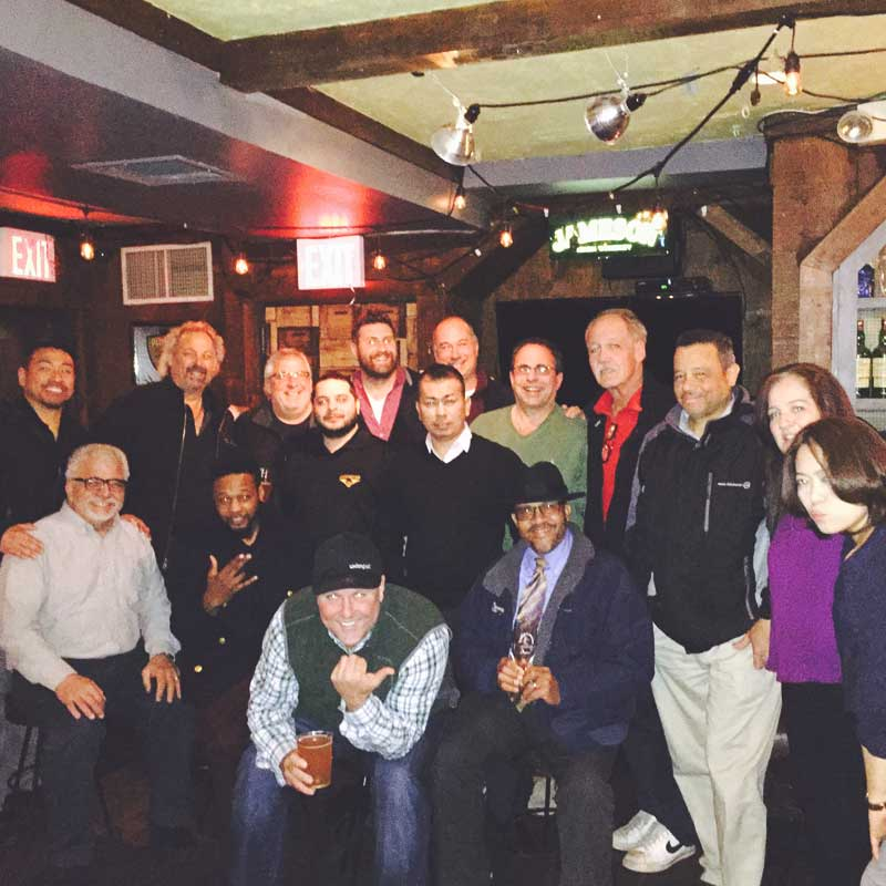 Maggie Mae's Welcomes Team Unibroue