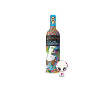 Friends Fun Wine Coconut Chardonnay bottle