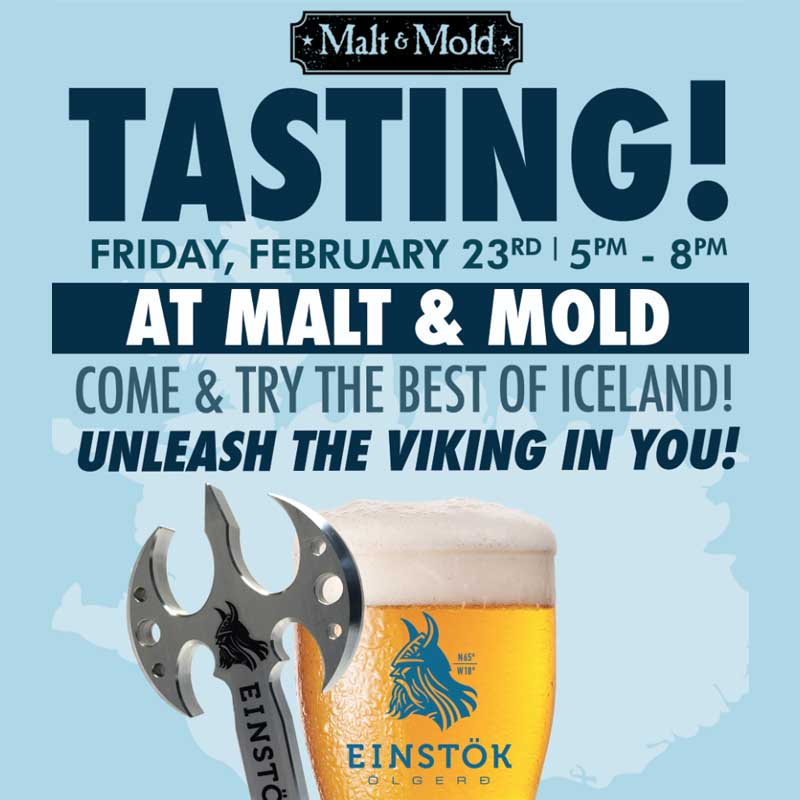Malt & Mold Gramercy Einstok Tasting