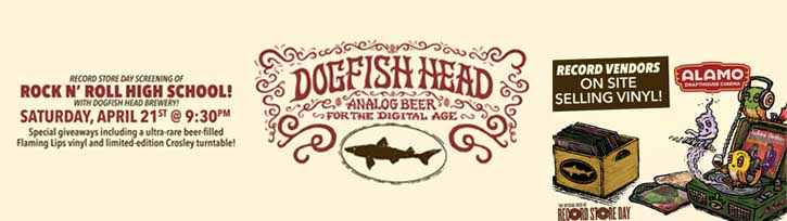 Dogfish Head Record Store Day at Alamo Drafthouse