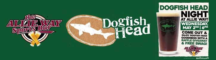 Dogfish Head Night at Allie Way Sports Bar