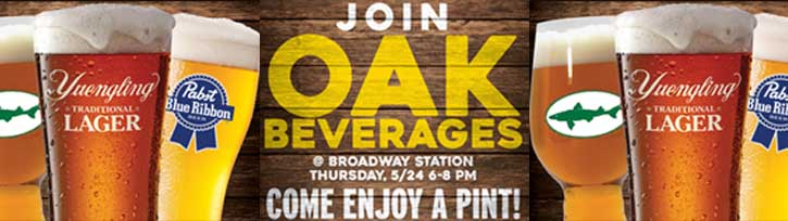 Join Oak Beverages for a Pint at Broadway Station