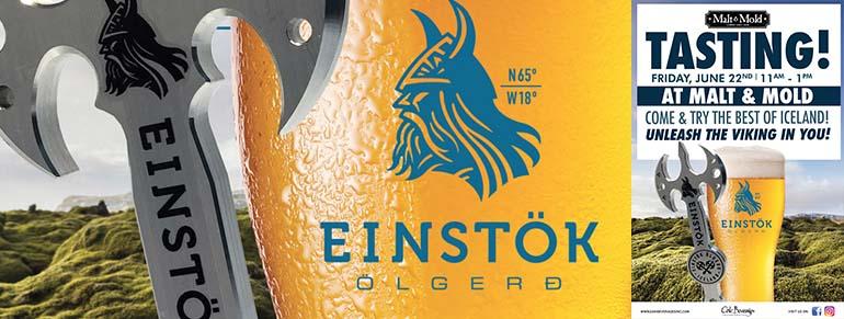 Einstok Tasting Event at Malt & Mold Lower East Side