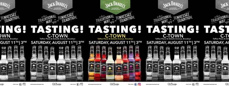 C-Town Host Jack Daniel's Country Cocktails Tasting