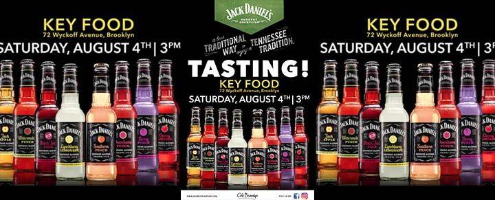 Key Food Host Jack Daniel's Country Cocktails Tasting