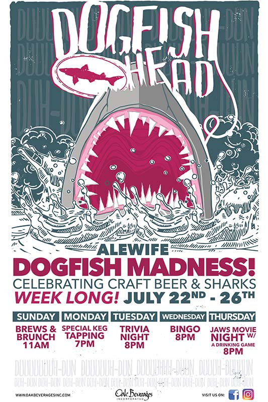 Alewife Dogfish Head Beer Madness