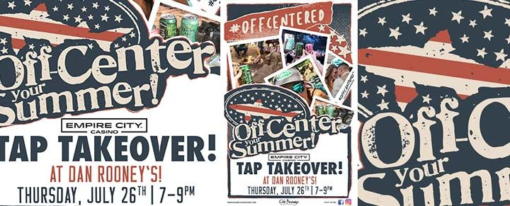 Dogfish Head Tap Takeover at Dan Rooney's