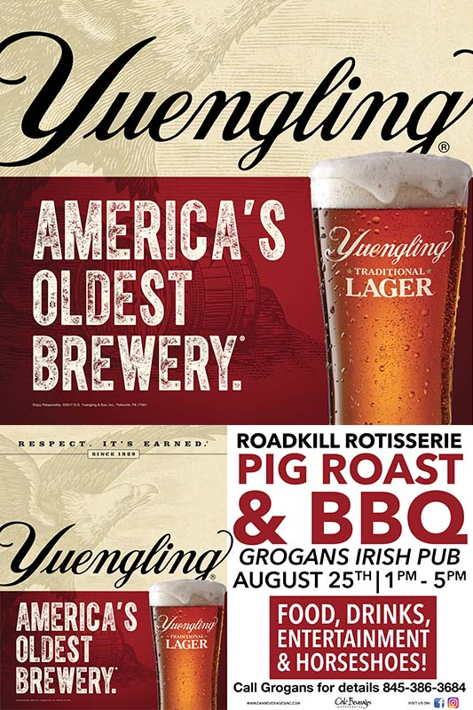 Yuengling Pig Roast & BBQ at Grogan's Irish Pub