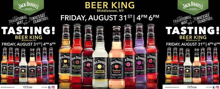 Beer King of Middletown Host Jack Daniels Tasting Event