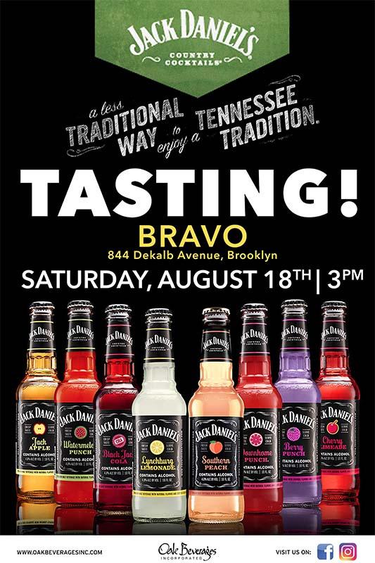 Bravo Supermarkets Jack Daniel's Tasting Event