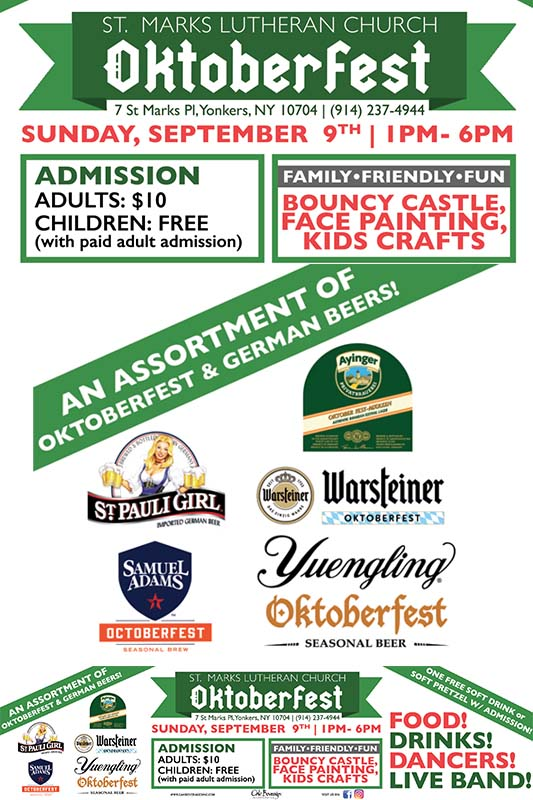 St. Mark's Lutheran Church Oktoberfest 2018