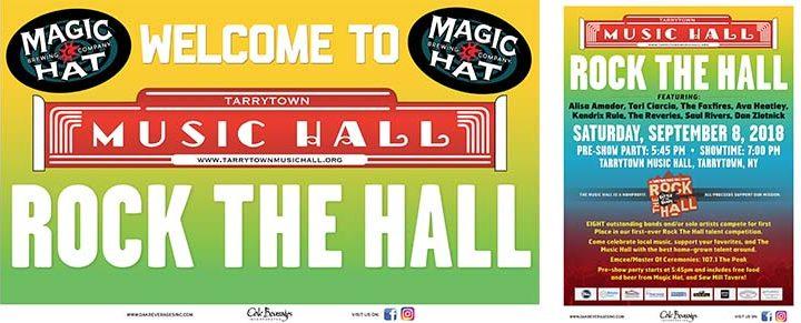 Magic Hat sponsors Rock The Hall