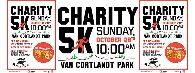 Tortoise & Hare Charity 5k Van Courtlandt Park