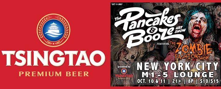 Tsingtao Presents The Pancakes & Booze Art Show