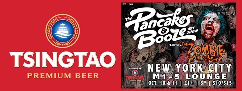 Tsingtao Presents The Pancakes & Booze Art Show