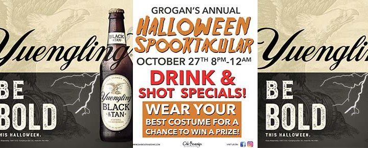 Grogan's Yuengling Halloween Spooktacular
