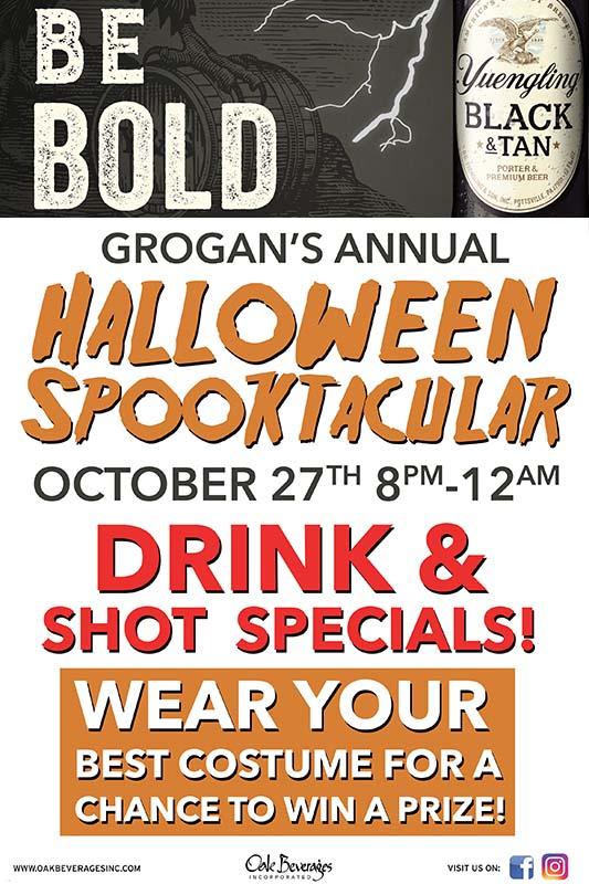 Grogan's Annual Yuengling Halloween Spooktacular