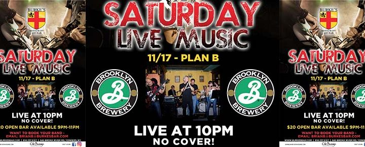 Brooklyn Brewery and Plan B Live at Burke's