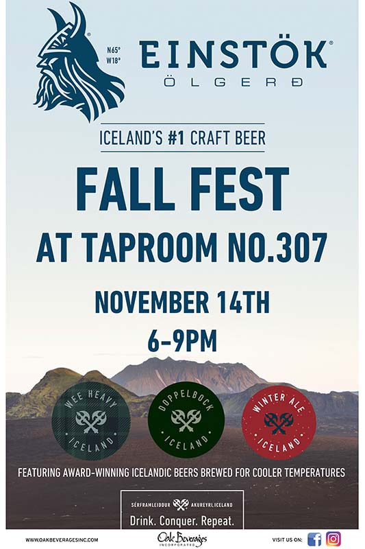 Einstok Fall Fest at Taproom NO. 307