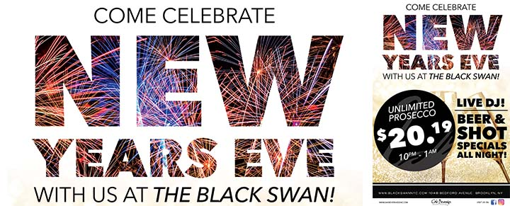 The Black Swan New Years Eve Party