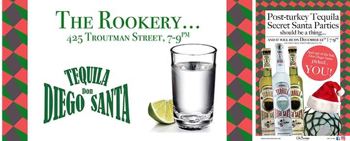 The Rookery Post-Turkey Tequila Secret Santa Party