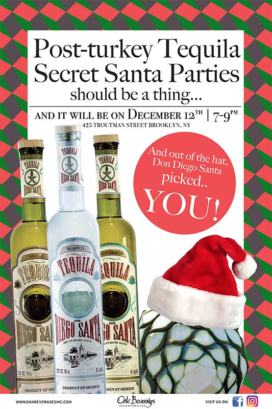 The Rookery Post-Turkey Tequila Secret Santa Party