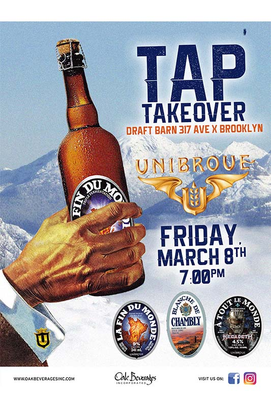 Unibroue Tap Takeover