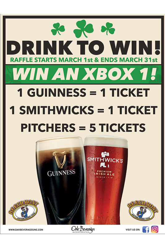 Drink Guinness Win XBOX