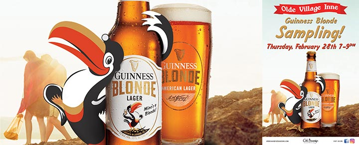 Olde Village Inne Guinness Blonde Sampling