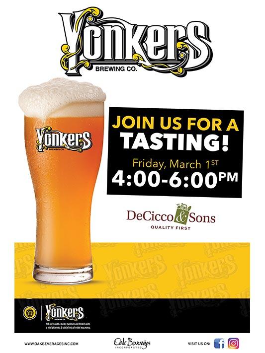 Yonkers Brewing Tasting