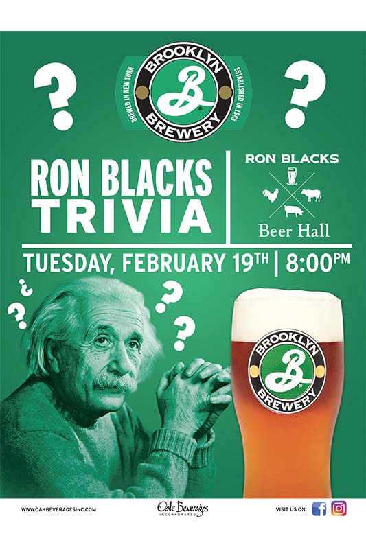 Ron Blacks Trivia