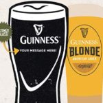 Noonan's Guinness Glass Engraving Event