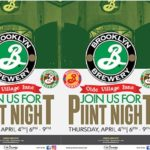 Brooklyn Brewery Pint Night