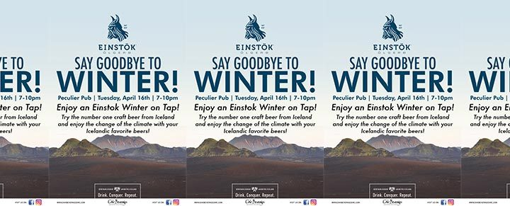 Einstok Winter Ale on Tap