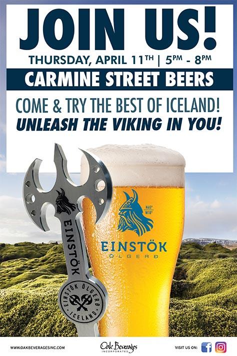 Icelandic Einstok Tasting
